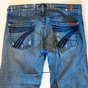 7 For All Mankind crop jeans size 26